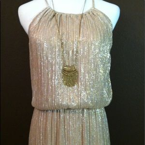 Enfocus Studio Dresses - Gold long length dress